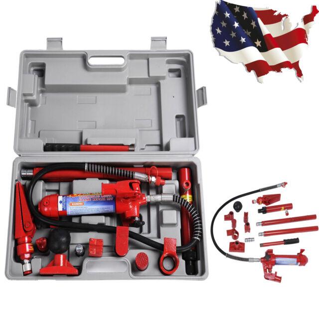 PORTA Power Hydraulic Jack Body Frame Repair Kit Auto Shop Tool ...