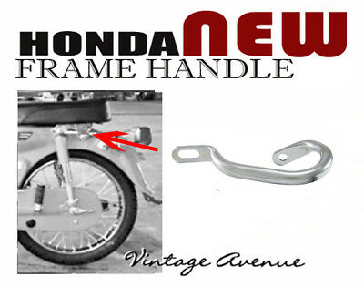 HONDA PASSPORT C50 C70 C90 SIDE FRAME HANDLE *CHROME PLATED STEEL*