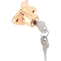 Prime-line Products U 9947 Drawer & Cabinet Lock, 7/8 In. Outside Diameter