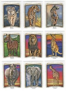 2017-Upper-Deck-Goodwin-Champions-ANIMALS-of-the-WORLD-Complete-32-card-set-lot