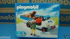 Playmobil 4464 zookeeper zoo city life series mint in Box geobra seal car NEW