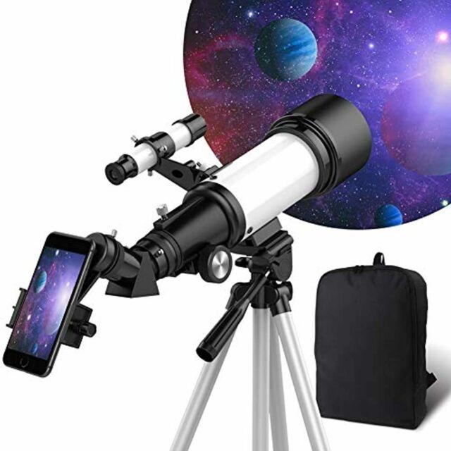 Telescopio Para Niños Y Principiantes 70mm Apertura 400mm Ver Luna Y Planetas