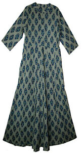 Indian-Dress-Cotton-Retro-Ehs-Hippy-Women-Retro-Blusa-Vintage-Vestir-Boho-Ethnic