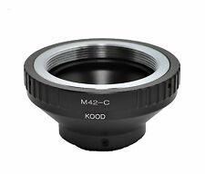 Kood C mount  to M42  Lens adapter