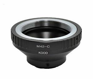 Kood-C-mount-to-M42-Lens-adapter