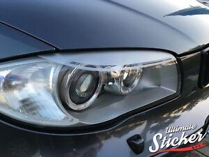BMW-1er-Scheinwerferblenden-Aufkleber-LCI-E87-E81-E82-E88-Performance-Devil-Eyes