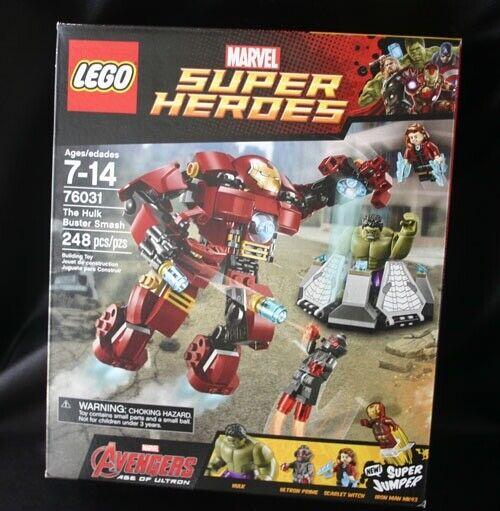 LEGO 76031 Marvel Super Heroes Hulkbuster Jumper New