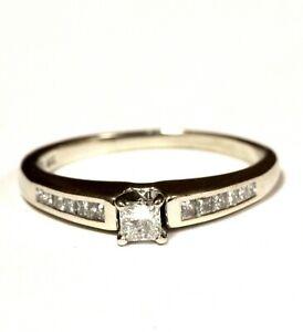 14k-white-gold-41ct-princess-diamond-womens-engagement-ring-2-9g-estate-vintage