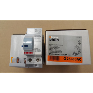 BTICINO-BLOCK-DIFFERENTIAL-AC-2P-40-63A-500MA-G25-63AC-CIRCUIT-BREAKER