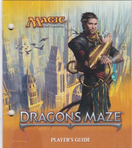 MTG Free Shipping. Dragon/'s Maze Players Guide