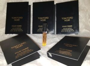 cff7cc10a7f3ed 5X Tom Ford Noir Pour Femme EDP Perfume Spray Sample .05 oz. 1.5ml ...