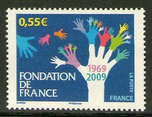 TIMBRE 4335 NEUF XX LUXE - FONDATION DE FRANCE 1969-2009