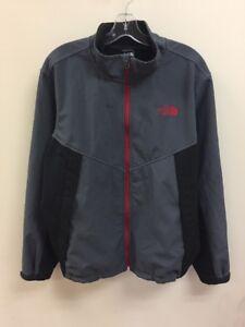 Vintage-The-North-Face-Fleece-Lined-Jacket-Size-Mens-X-Large-Grey-Black