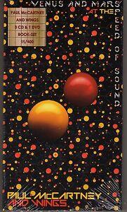 Paul McCartney & Wings Venus y a Marte -- 3 CD S & 1 Dvd Box Set-  ver título original - España - Paul McCartney & Wings Venus y a Marte -- 3 CD S & 1 Dvd Box Set-  ver título original - España
