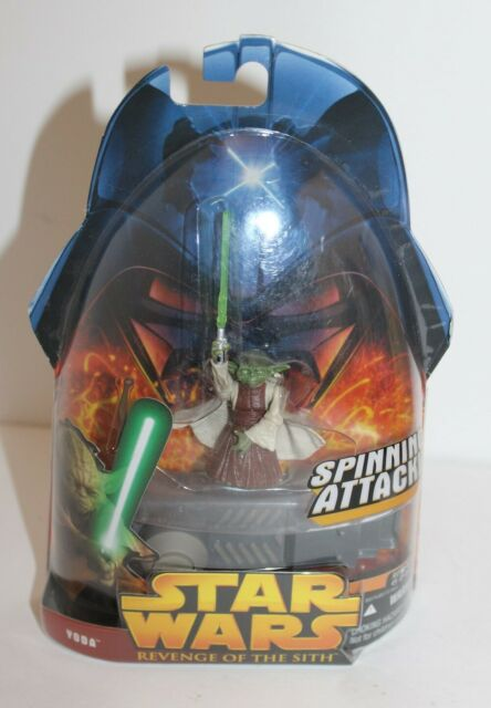 Star Wars Revenge Of The Sith Yoda Action Figure 26 Hasbro 2005 New For Sale Online