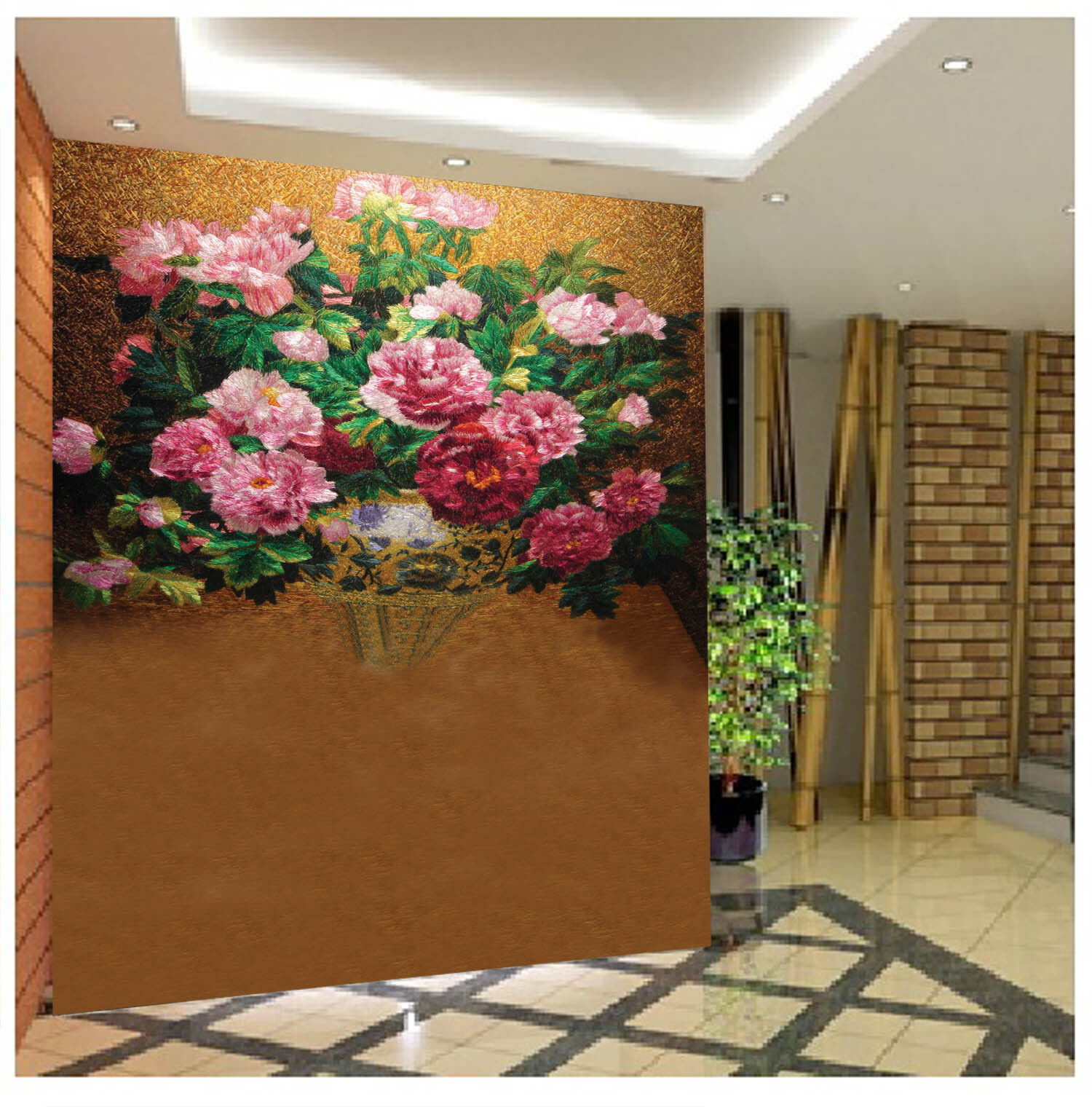 3D Beautiful Flowers 84 Wall Paper Wall Print Decal Wall Deco Wall Indoor Murals