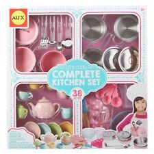 Complete Kitchen Set Alex Toys Kids Bakeware Cookware Utensils Tea Service New For Sale Online