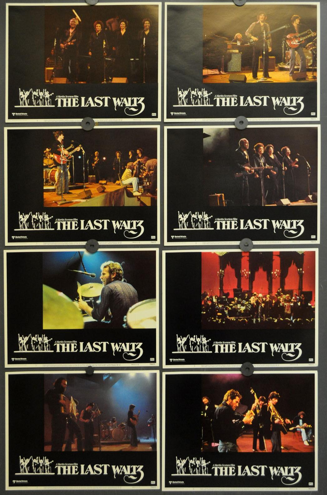 The Last Waltz 1978 Original 11X14 Lobby Karte Set Muddy Waters Neil Young