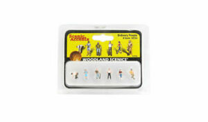 WOODLAND SCENICS N SCALE ORDINARY PEOPLE 6 BN2124
