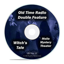 Molle Mystery Theater + Witch's Tale, 186 Classic Old Time Radio Shows DVD F86