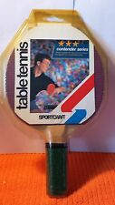 SPORTCRAFT Table Tennis Paddle / Contender Series Designed for Competitive Play