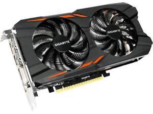 GIGABYTE GeForce GTX 1050 Ti DirectX 12 GV-N105TWF2OC-4GD 4GB 128-Bit GDDR5 PCI