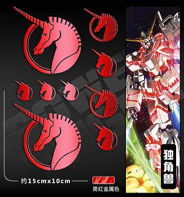 Double OO Gundam 00 Celestial Being Car Phone iPhone Metal Sticker Decal