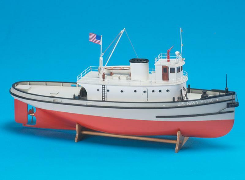 Newly Released, Rare Ship Kit by Billing Boats  the  Hoga Harbor Tug