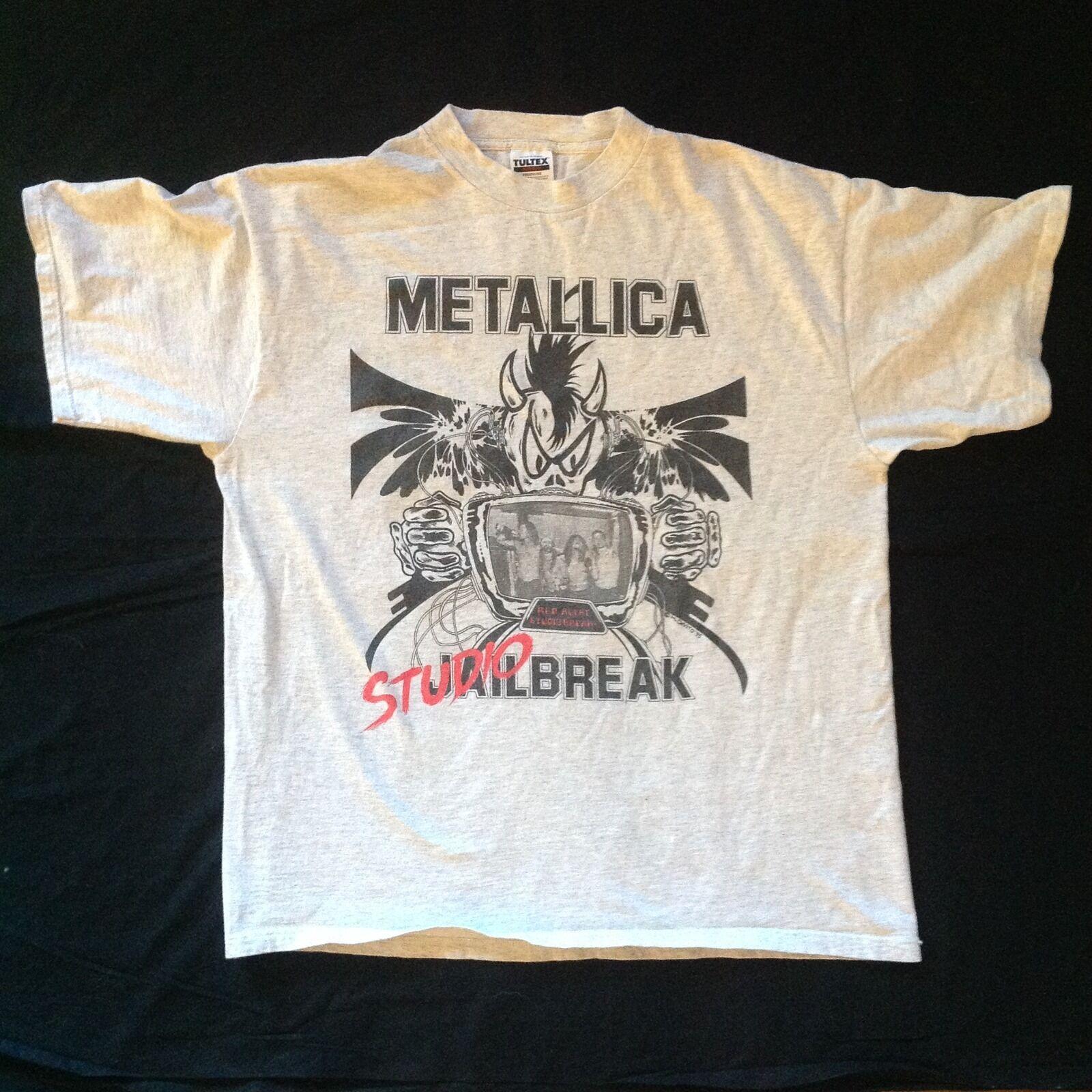 METALLICA shirt t vintage tshirt DONINGTON '95 studio break 90s 1995