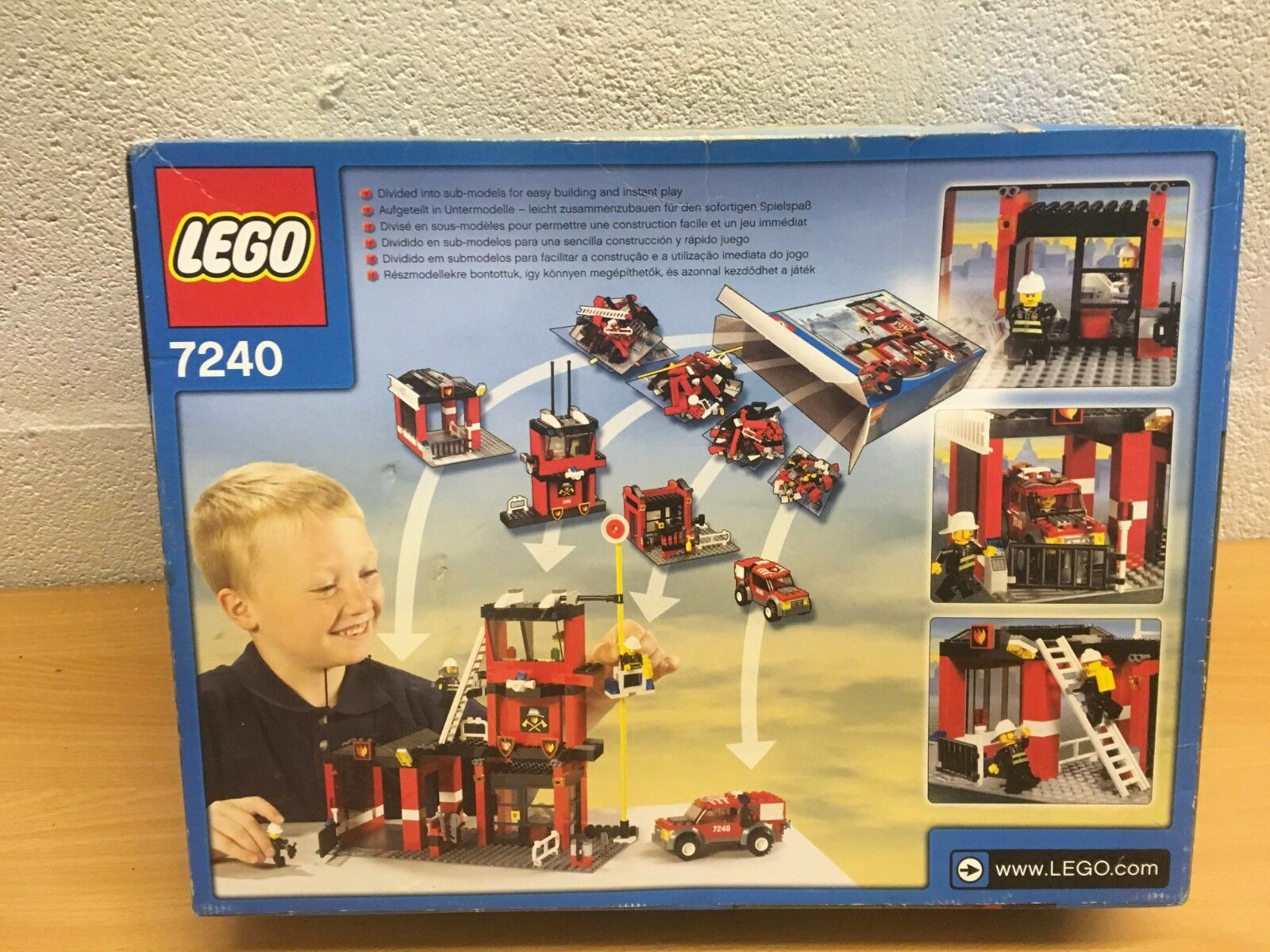 LEGO CITY 7242 OR 7241 OR OR OR 7046 FIRE STATION TRUCK NEW SEALED COMMAND CRAFT 1d0c20