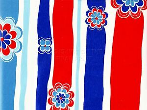 Imprimer La Peinture Abstraite Bold Simple Flower Power Rayures