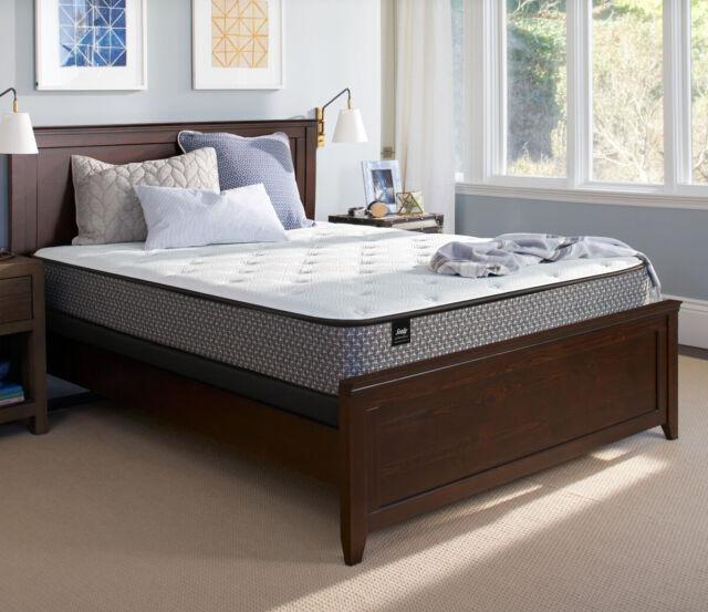Sealy Response Essentials 11 5 Inch Cushion Firm Mattress Set