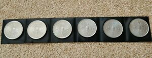 1980 Commerative Coin Elizabeth The Queen Mother 80th Birthday August 4th x6