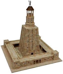 Aedes 1271. Maqueta Faro de Alejandria. Construccion de ladrillos