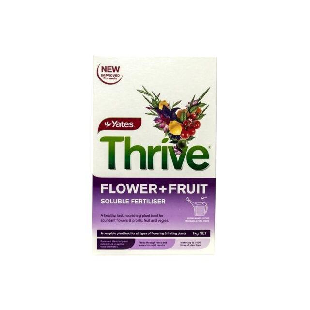 Yates THRIVE Flower & Fruit SOLUBLE FERTILISER 1kg