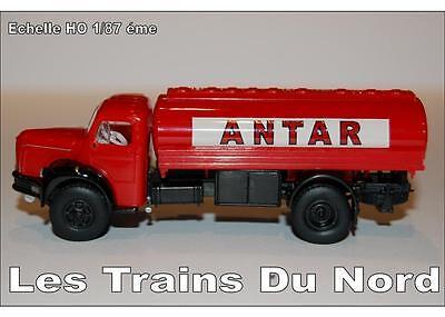 Camion Berliet type GLR8 citerne ANTAR éch HO 1/87 éme BREKINA SAI 2616