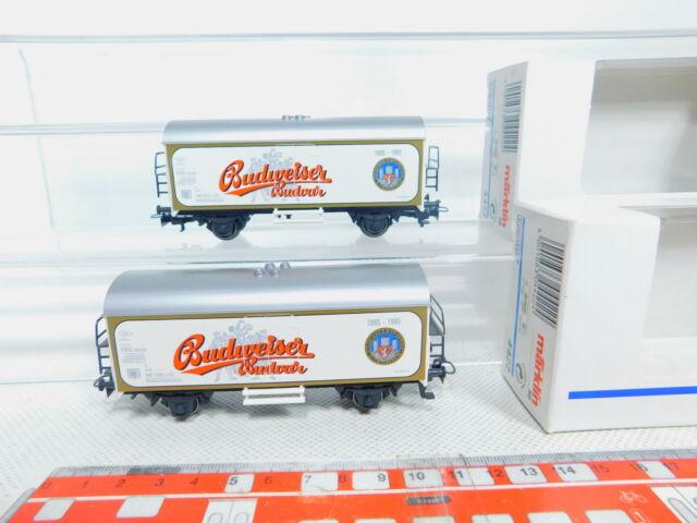 Bz590-0, 5 #2x Märklin H0 / Ac 4422 Vagón Frigorífico / Furgoneta Cerveza