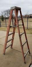 6 Ft Fiberglass Step Ladder A Frame Local Pickup