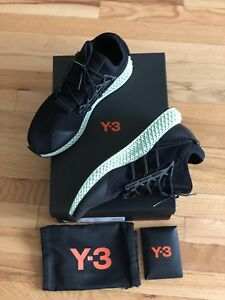 los angeles d4905 66ac6 Image is loading Adidas-Y-3-Runner-4D-II-Futurecraft-Size-