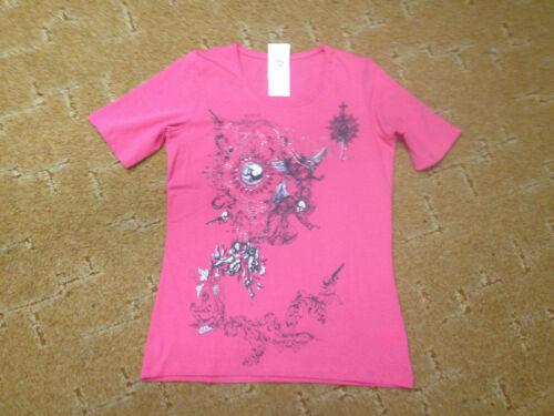 Damen Oberteil Shirt T-Shirt mit tollem Motiv und Strass Gr XL von Lea H.
