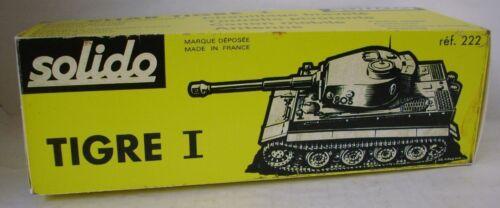 Repro Box Solido Militär Nr.222 PanzerTiger I
