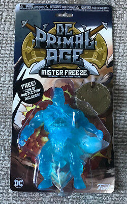 NYCC 2018 FUNKO EXCLUSIVE MR MISTER FREEZE PRIMAL AGE CLEAR BLUE ICE ACTION FIG
