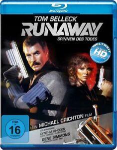 Runaway-Blu-ray-1984-Tom-Selleck-Michael-Crichton-Ciencia-Ficcion-todas-las-regiones-de-importacion