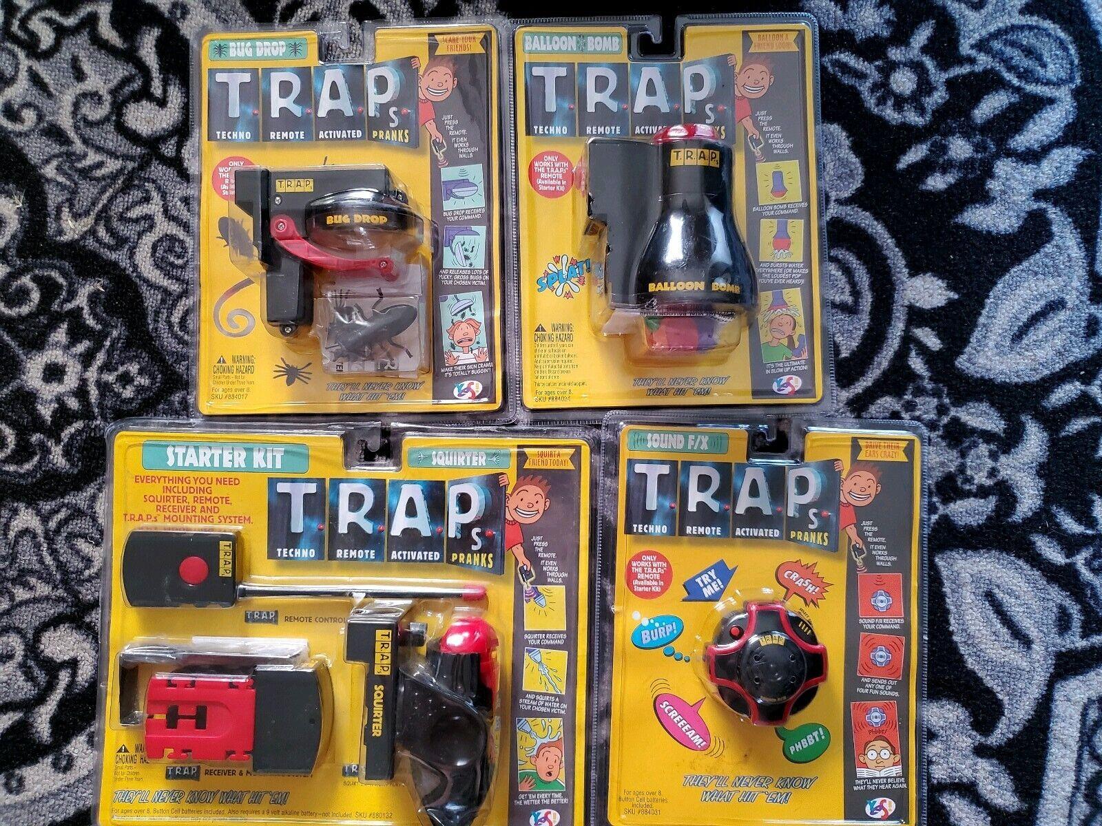 Trap techno complete collection with remote control RARE NEW
