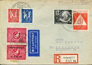DDR-1950-BRIEF-EINSCHREIBEN-LUFTPOST-GRUNDUNGSKONFERENZ-MIF-PHIL-COVER