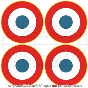 KUBA Luftwaffe Flugzeug KUBANISCHE Roundel 75mm Vinyl Sticker Aufkleber x2