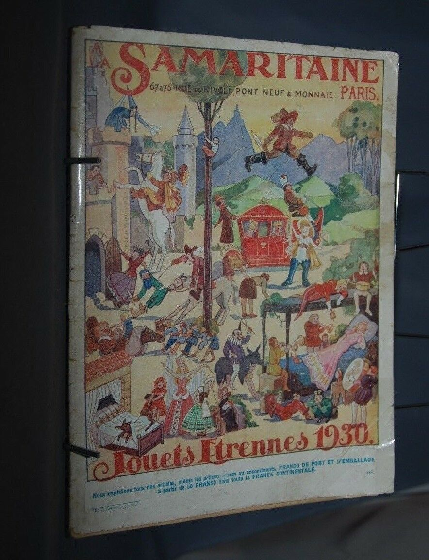 NB CATALOGUE CATALOGUE NB LA SAMARITAINE  JOUETS ETRENNES 1930 94823a
