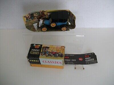 Vintage Corgi 9013 1915 Ford classic with box