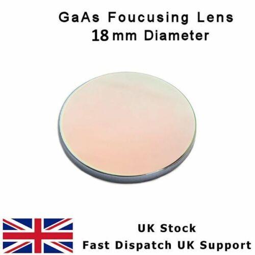 "GaAs Focus Lentille 18 mm Dia FL 50.8 mm 2/"" ménisque Laser CO2 Cutter"