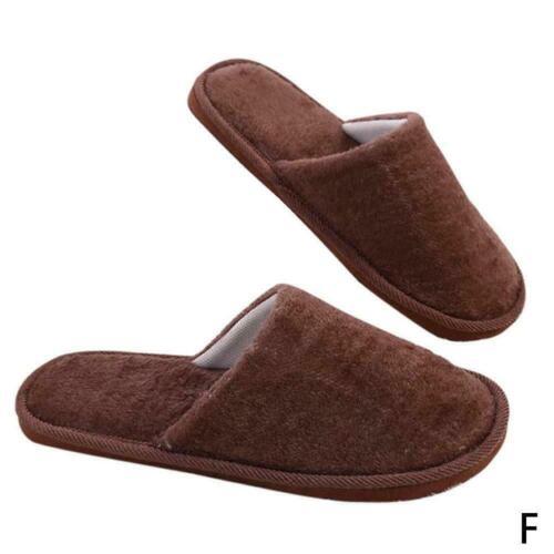 Zuhause Anti-Rutsch-Schuhe Weiche warme Baumwolle Sandale Hausschuhe Haus H X3I8